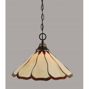 Searching for Ceres 1-Light Bowl Pendant By Red Barrel Studio
