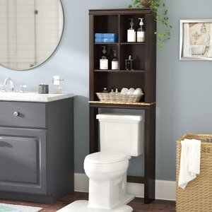 Milledgeville 23.3″ W x 68.58″ H Over the Toilet Storage