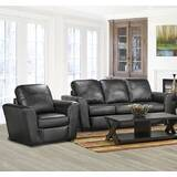 Lidiya 2 Piece Leather Living Room Set by Red Barrel Studio