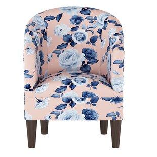 Hoban Barrel Chair by Alcott Hill