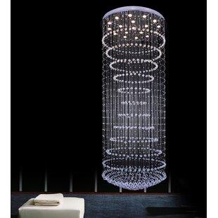CWI Lighting 18-Light Flush Mount