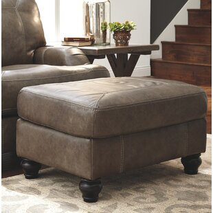 Darby Home Co McDonald Leather Ottoman