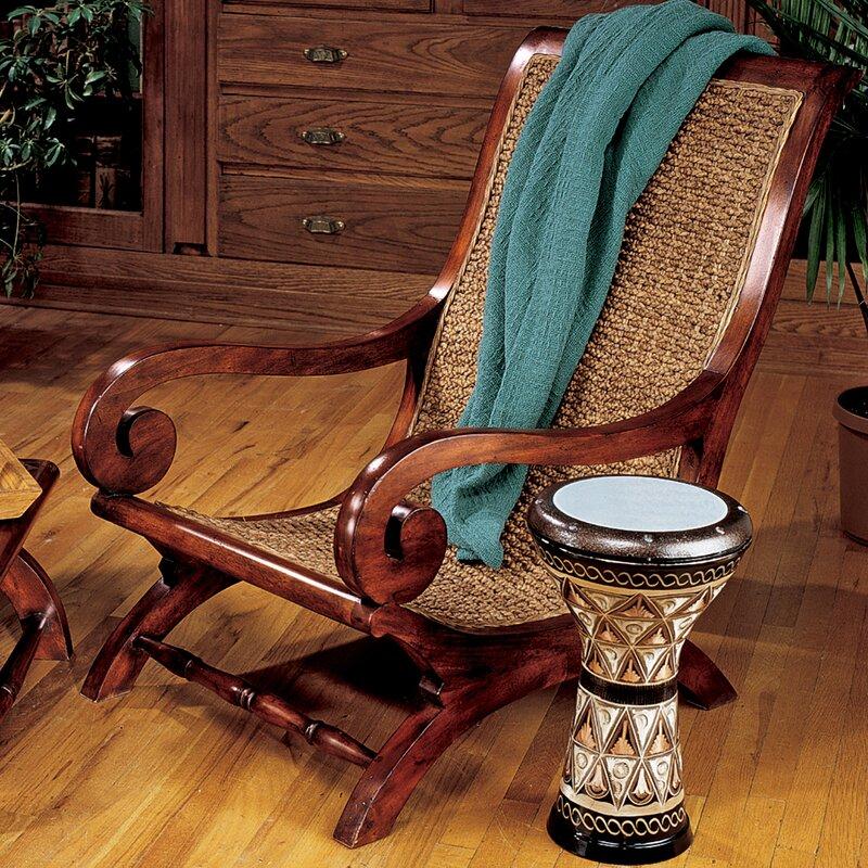 British Plantation Armchair - Design Toscano British Plantation Armchair & Reviews Wayfair