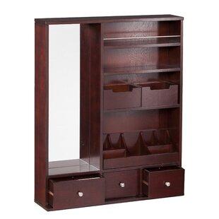 25546a05f Birch Lane™ Silva Mirrored Jewelry Armoire –Best Bedroom Furniture