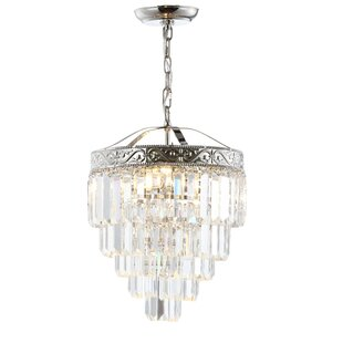 Kingsdown 2-Light Crystal Pendant By Ophelia & Co.