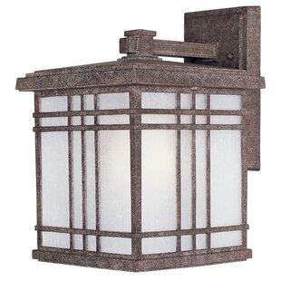 Loon Peak Sawyer 1-Light Outdoor Wall Lantern (Set of 4)