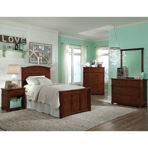 Bonneau Modern Twin Storage Panel Configurable Bedroom Set by Harriet Bee
