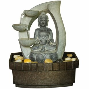 Tifton Resin Buddha Fountain By Sol 72 Outdoor