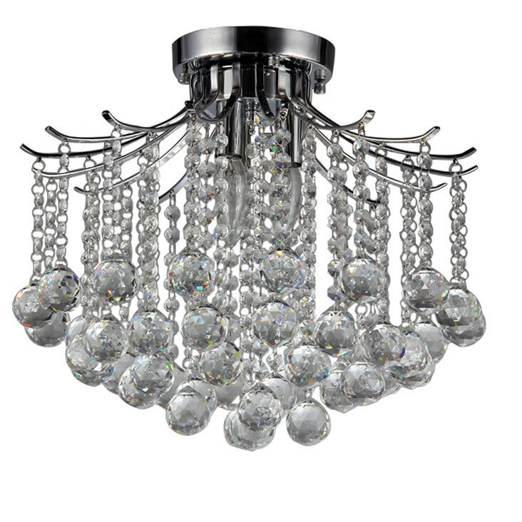 Warehouse Of Tiffany Jewel Light Crystal Chandelier Reviews - Chandelier jewels crystals