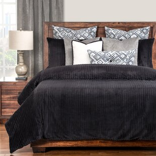 Red Barrel Studio Palmdale Black Duvet Set