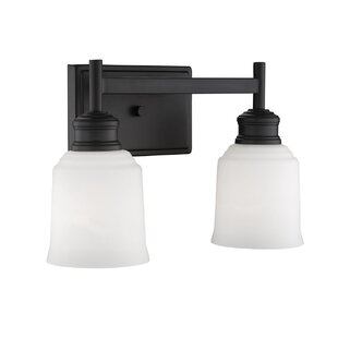 Zeke 2-Light Vanity Light By Winston Porter