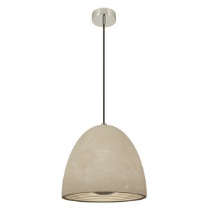 Castle 1-Light Cone Pendant by Seed Design