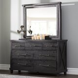 Arisdages 7 Drawer Dresser with Mirror by Gracie Oaks