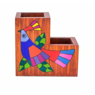 Red Barrel Studio Stodola 'Flora and Fauna' Desk Organizer