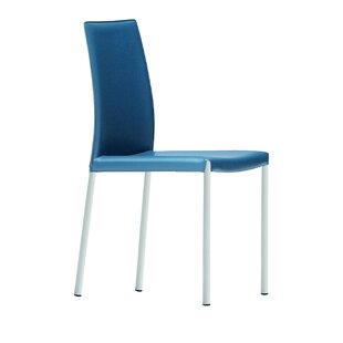 Midj Nuvola Genuine Leather Upholstered Dining Chair