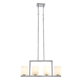 Orren Ellis Janeta 4-Light Kitchen Island Pendant