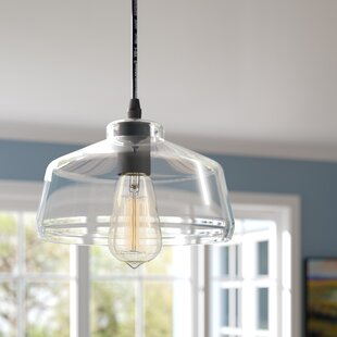 Laurel Foundry Modern Farmhouse Bouvet 1-Light Schoolhouse Pendant