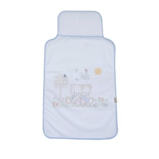 Crewkerne Bear Changing Pad Cover by Harriet Bee