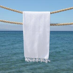 Sandspur Pestemal Turkish Cotton Beach Towel by Bay Isle Home