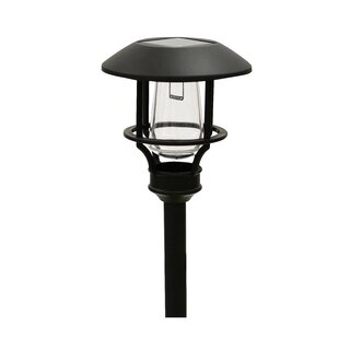 Metal Solar 1 LED Pathway Light (Set of 4)