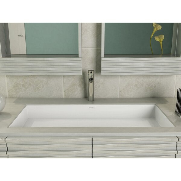 Decolav Sondra Solid Surface Acrylic Rectangular