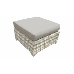 Fairmont Outdoor Ottoman with Cushion by TK Classics
