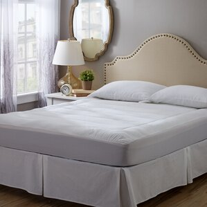 wayfair basics cotton pillow top mattress pad