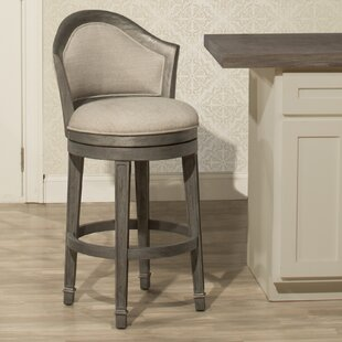 Gudrun 30'' Swivel Bar Stool One Allium Way