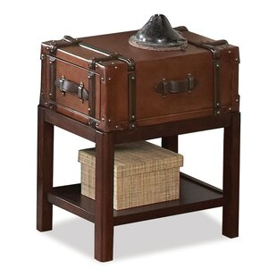 Three Posts Bouldin Suitcase Console Table