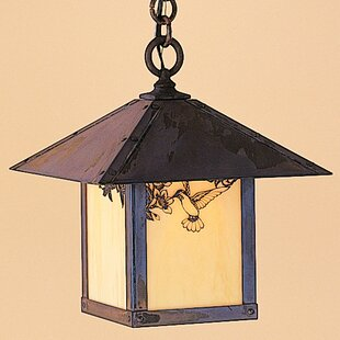 Arroyo Craftsman Evergreen 1-Light Outdoor Hanging Lantern
