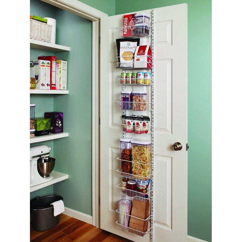 8-Tier Adjustable Cabinet Door Organizer  sc 1 st  Wayfair & ClosetMaid 8-Tier Adjustable Cabinet Door Organizer \u0026 Reviews | Wayfair