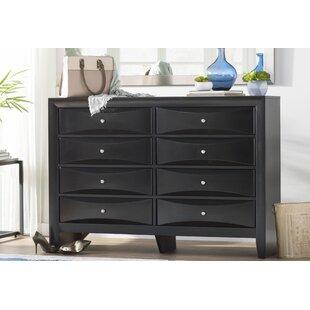 Latitude Run Medford 8 Drawer Double Dresser