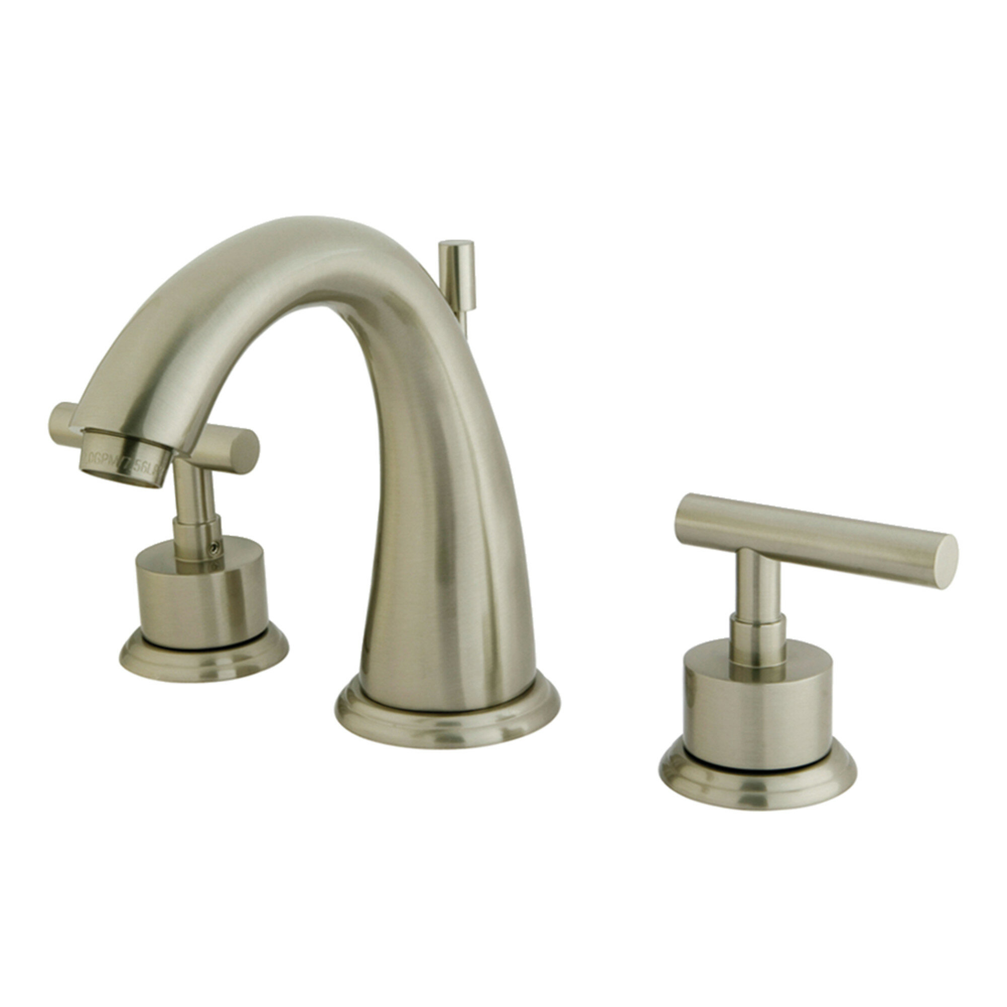 Widespread Bathroom Faucet With Br