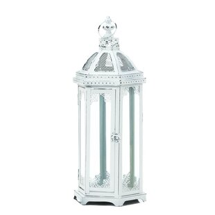 Ophelia & Co. Glass/Metal Lantern