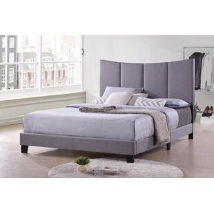 Millar Upholstered Panel Bed by House of Hampton Cheap