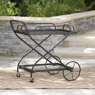 Polak Outdoor Bar Serving Cart