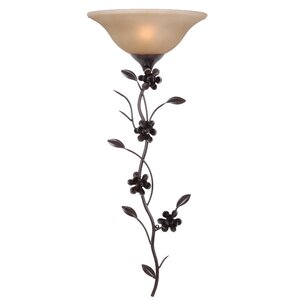 Blooms 1-Light Wallchiere