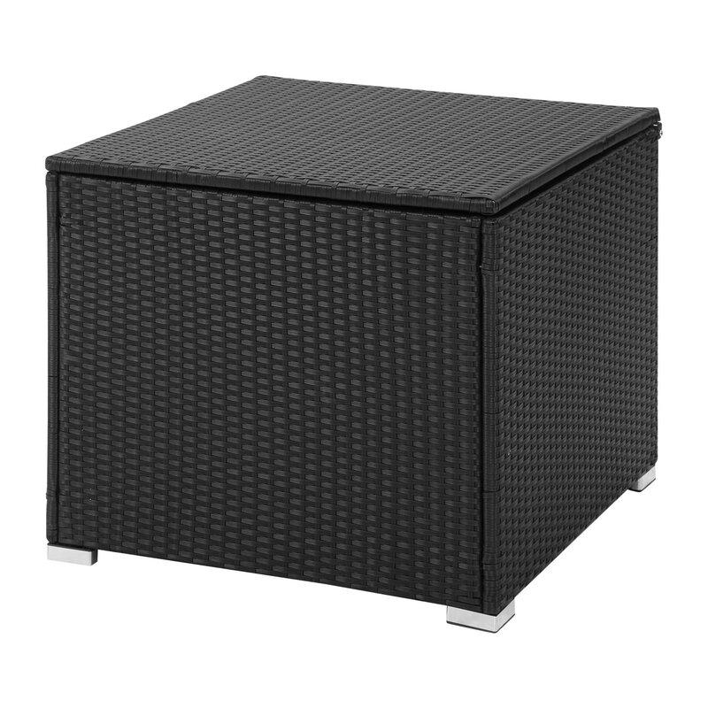 Ainfox Outdoor 96 Gallon Rattan Deck Box
