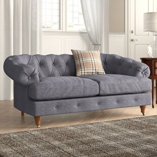Calvert 2 Seater Chesterfield Sofa By Ophelia & Co.