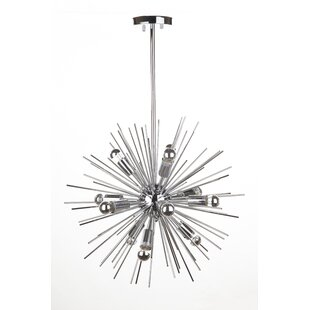 Drenthe 12-Light Sputnik Chandelier by dCOR design