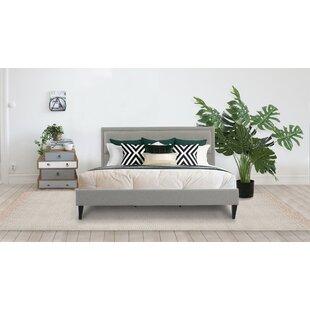 Lexy Modern Upholstered Platform Bed by Jennifer Taylor