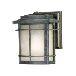 Reviews Womack 1-Light Traditional Outdoor Wall Lantern By Three Posts