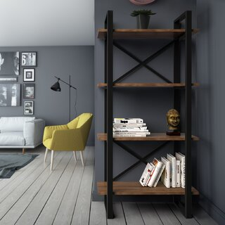 Argueta Etagere Bookcase by Foundry Select SKU:BA360409 Shop