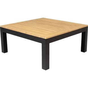 Markos Teak/Aluminium Lounge Table By Sol 72 Outdoor