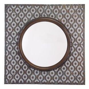 Bungalow Rose Carshalton Metal Accent Mirror