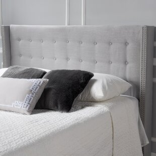 Edmund Upholstered Wingback Headboard by Willa Arlo Interiors