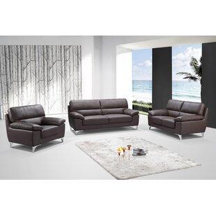 Best Deals Charity 3-Piece Living Room Sofa Set by Orren Ellis Reviews (2019) & Buyer's Guide