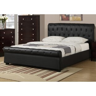 Charlton Home St. Lawrence Upholstered Sleigh Bed
