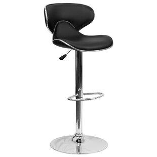 Strange Modern Contemporary Gale Adjustable Height Swivel Bar Ncnpc Chair Design For Home Ncnpcorg