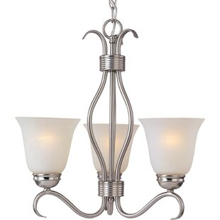 Three Posts Birdsall 3-Light Shaded Chandelier